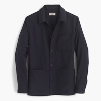 Wallace & Barnes chore jacket in Italian wool