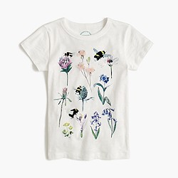 Girls' J.Crew for the Xerces Society save the bees T-shirt