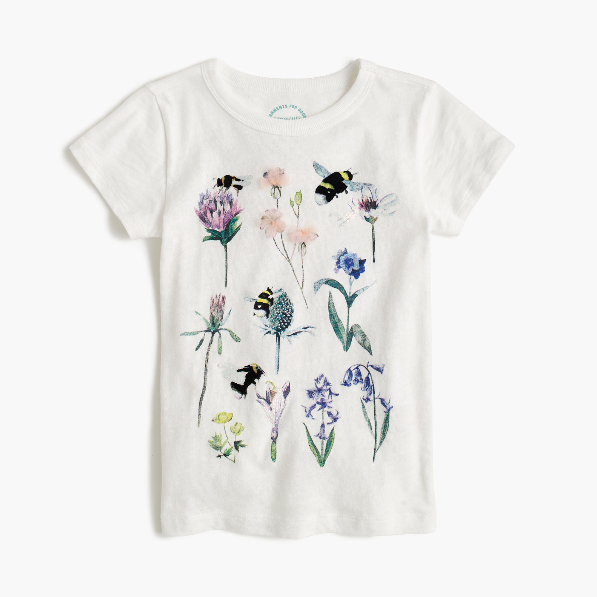 Girls 39 J Crew For The Xerces Society Save The Bees T Shirt