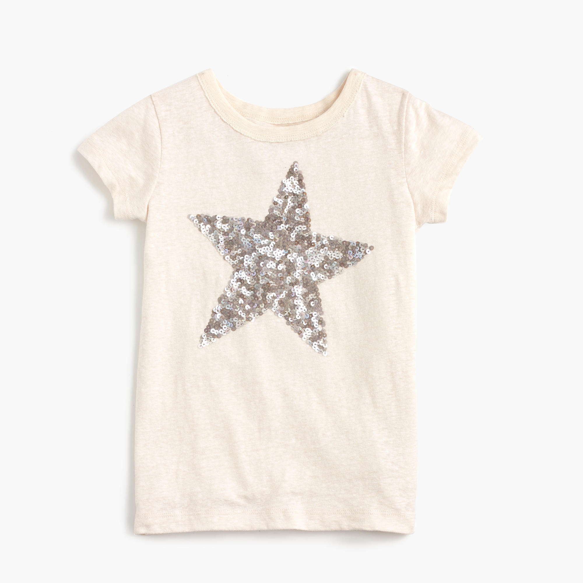 Girls 39 sequin star t shirt j crew for Girls sequin t shirt