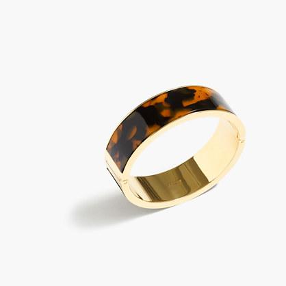 Tortoise clamp bracelet