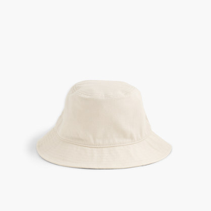 Bucket hat in ecru