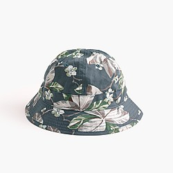 Bucket hat in floral