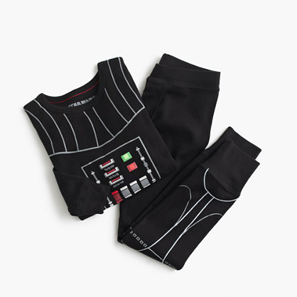 Kids' Star Wars™ for crewcuts glow-in-the-dark Darth Vader sleep set