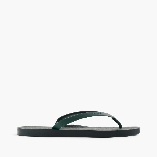 Tidal New York® for J.Crew flip-flops