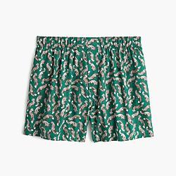 Fox print boxers