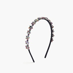 Girls' glitter star headband