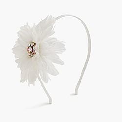 Girls' mega sparkle daisy headband