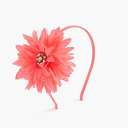 Girls' mega sparkle daisy headband