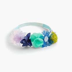 Girls' floral headband