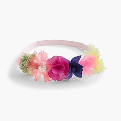Girls' floral headband