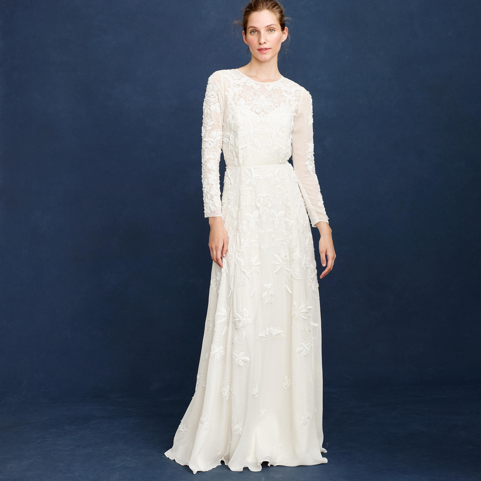 Florence gown wedding dresses j crew for J crew wedding dresses