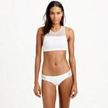 Mesh racerback bikini top