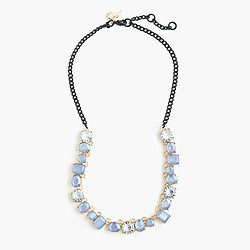 Girls' multistone necklace