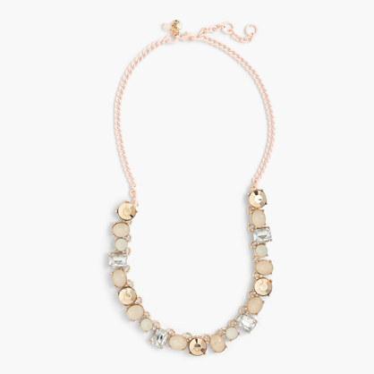 Girls' multistone necklace
