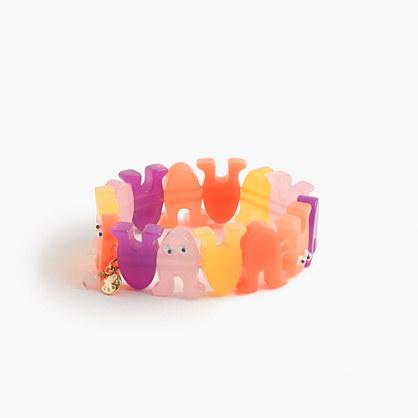 Girls' Max the Monster elastic bracelet