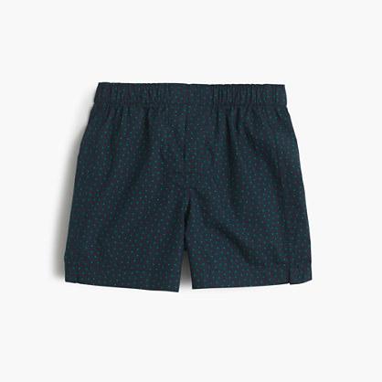Boys' mini dot boxers