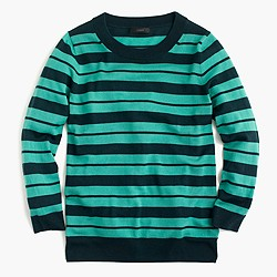 Petite Tippi sweater in mixed stripe