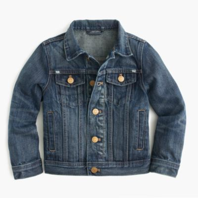 Boys' utility jacket : Boy lightweight & denim | J.Crew