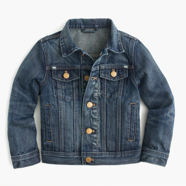 Boys' denim jacket