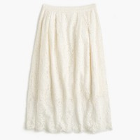Collection floral lace skirt