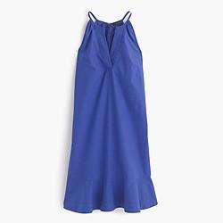 Flutter-hem dress