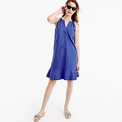 Flutter-hem dress