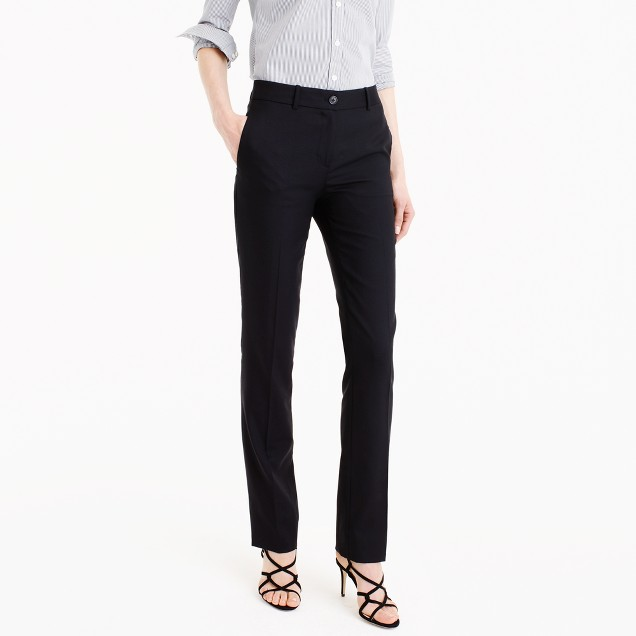 Petite Regent pant in Super 120s wool