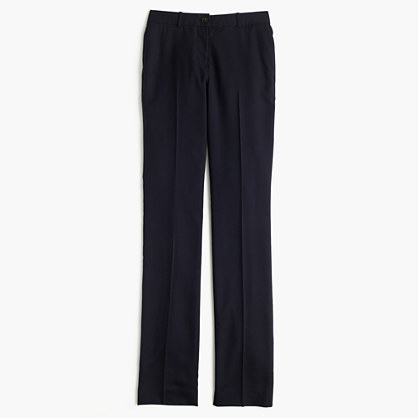 Petite Regent pant in Super 120s wool