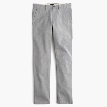 Brushed cotton melange twill pant in 770 fit