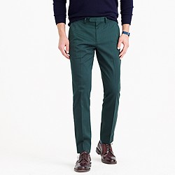 Bowery slim pant in stretch chino
