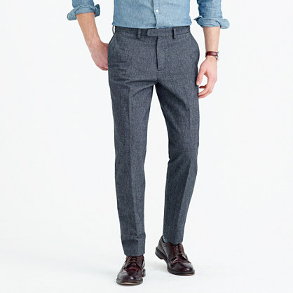 Bowery classic pant in brushed cotton twill