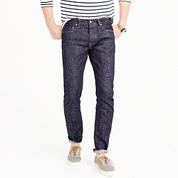 484 stretch selvedge jean in raw indigo