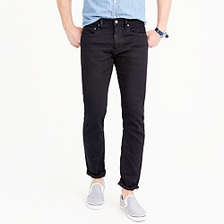 484 stretch jean in black