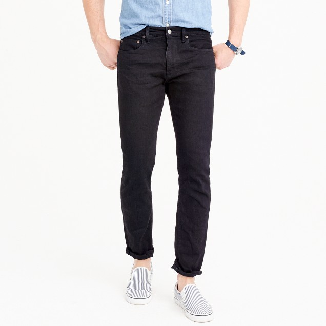 484 slim stretch jean in black