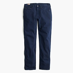 770 jean in garment-dyed American denim