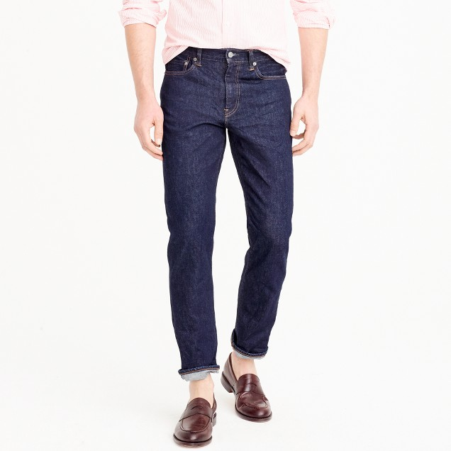 770 straight stretch jean in indigo