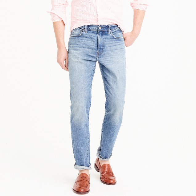 770 straight stretch jean in Whitford wash