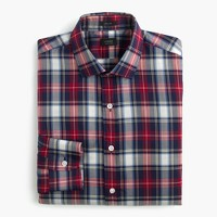 Ludlow shirt in multicolor tartan