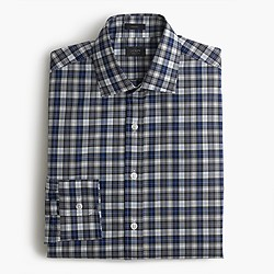 Crosby shirt in heritage blue plaid