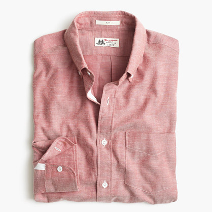 Slim Thomas Mason® for J.Crew shirt in brushed oxford