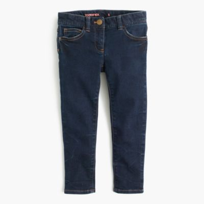 Girls' stretch toothpick jean