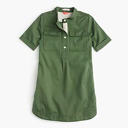 Girls' military dress