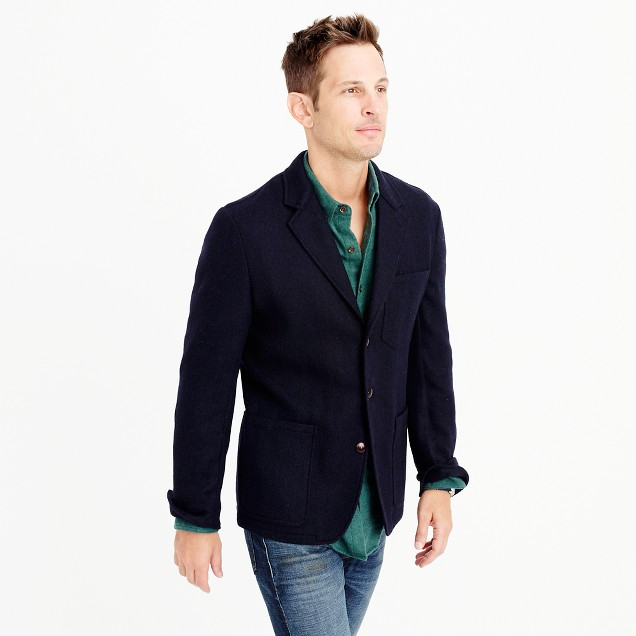 Wallace & Barnes blazer in English wool
