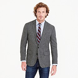 Crosby blazer in herringbone English tweed