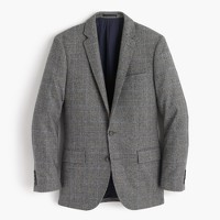 Ludlow suit jacket in Italian glen plaid wool