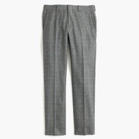 Ludlow suit pant in Italian glen plaid wool