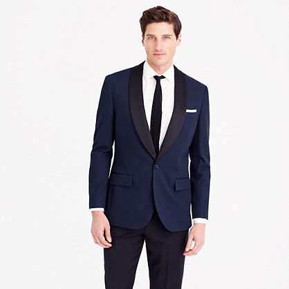 Ludlow dinner jacket in Italian cotton