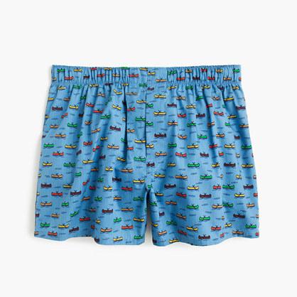 Canoe print boxers