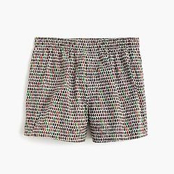 Leaf print boxers